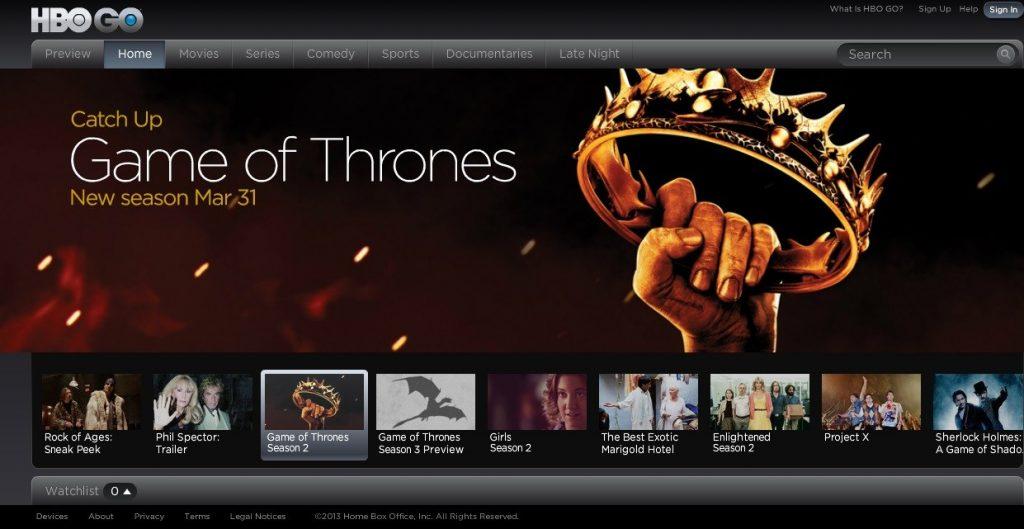 HBO error 2010